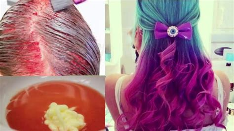 how to dye your hair with food coloring diy dip dye hair with food coloring diy do it your self