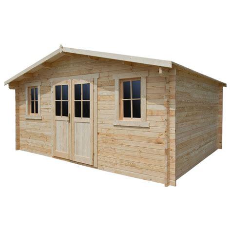 solde abri de jardin bois abri de jardin en bois massif 16m 178 plus madriers 28mm gardy shelter