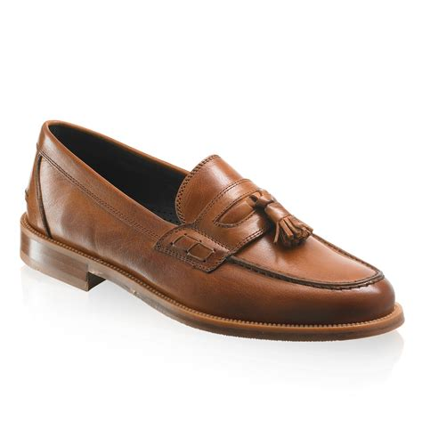 russel and bromley loafers keeble 3 tassel college loafer in leather
