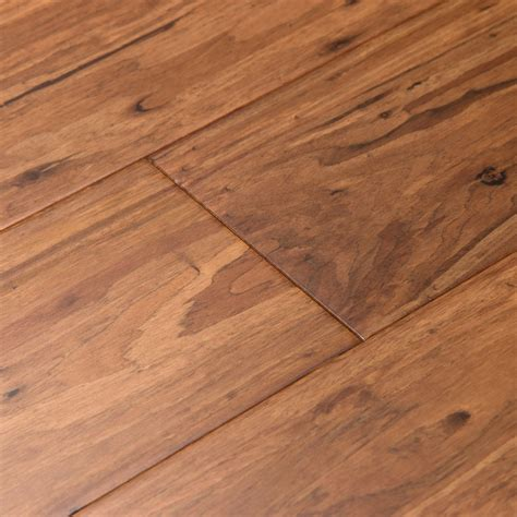 shop cali bamboo fossilized 5 in mocha eucalyptus solid hardwood flooring 27 48 sq ft at lowes com