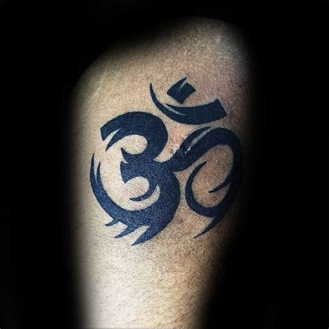 tribal om tattoo 90 om designs for spiritual ink ideas