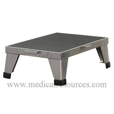 stainless steel stacking step stool by mid central united metal fabricators stainless steel stackable foot stool