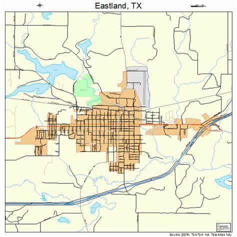 eastland texas map eastland texas map 4822132