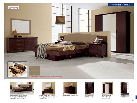 innovative bedroom furniture miss italia composition 3 camelgroup italy modern