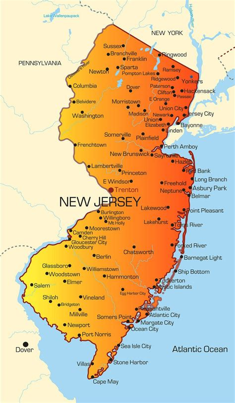 us map oregon state new jersey lpn requirements and training programs