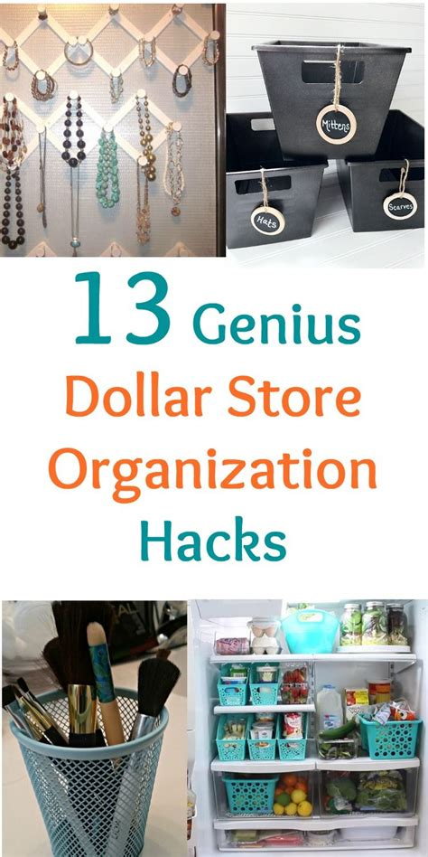 home organization hacks 13 genius dollar store organization hacks dollar store