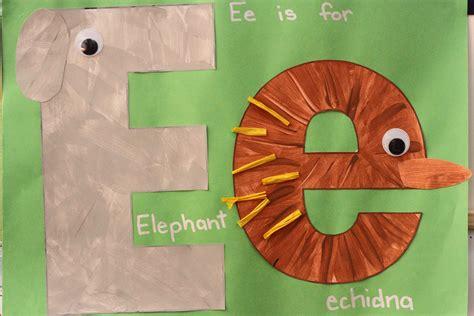 for preschoolers preschool letter e in my world