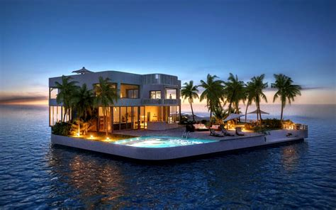 Dream Home Plans Luxury maldives floating islands plans to takeoff maldives com