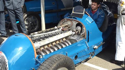 Car Types Starting With B by Bugatti Type 59 50b Engine Start And Revving Goodw
