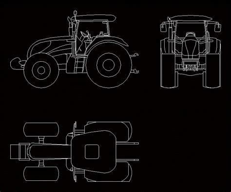 tractor landini     autocad cad  mb bibliocad