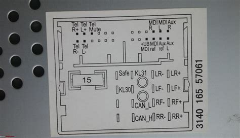 vw rcd 310 wiring diagram wiring diagram