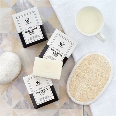Gluta Soap By Wink White new wink white soap gluta soap whitening