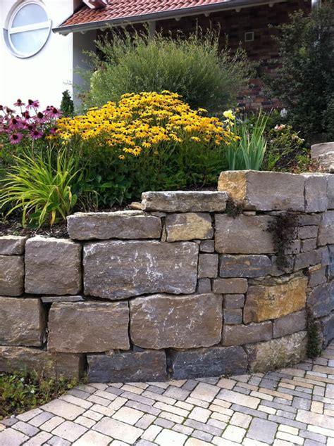 Gartengestaltung Mit Mauern by Galerie Garten Steinarbeiten Naturnahe Gartengestaltung
