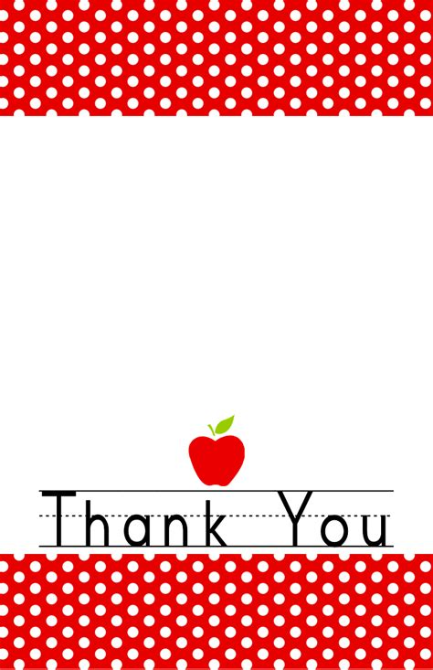 thank you cards template for teachers 34 printable thank you cards for all purposes baby