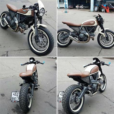 Motorrad Sitzbank Scrambler by Ducati Scrambler Mods Cafe Racer Custom Ducati Scrambler