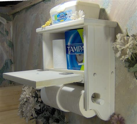 toilet paper shelf wt504 two roll toilet paper holder with storage cabinet