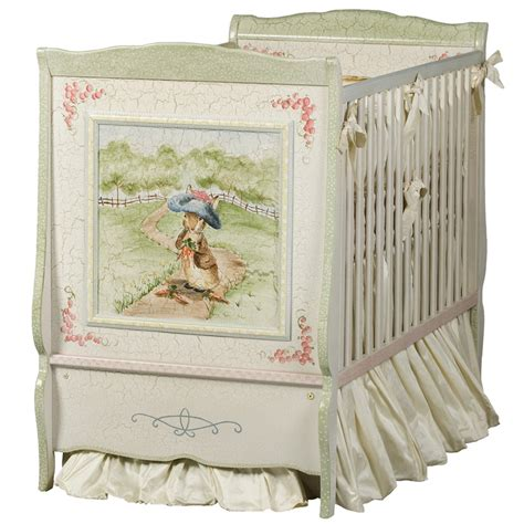 Enchanted Forest Crib Set by Cottage Crib In Renaissance With Enchanted Forest Motif