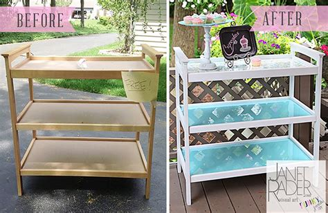 Repurposed Changing Table Diy Bar Cart Pinterest Repurposed Changing Table