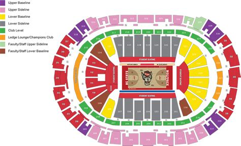 pnc arena seating pnc arena seat map my