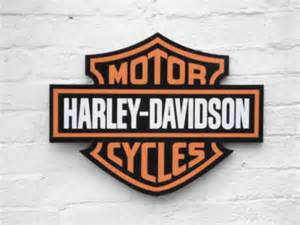 harley davidson garage sign for sale on car and classic uk