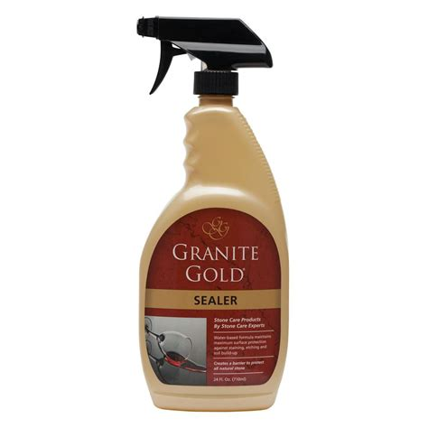 Sealer For Quartz Countertop Granite Gold 24 Oz Countertop Liquid Sealer Gg0036 The