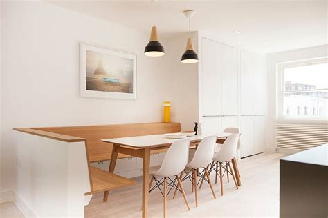 Kitchen Ideas With White Cabinets by Refined Simplicity 20 Banquette Ideas For Your