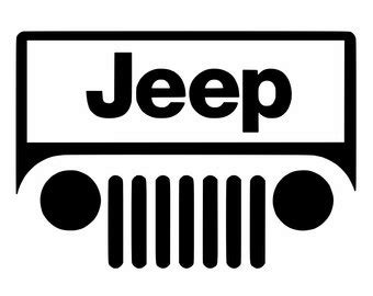 Jeep 4096 White Black the gallery for gt jeep road silhouette