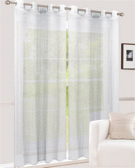 gardinen gemustert 214 senvorhang gemustert lichtdurchlassig netzoptik