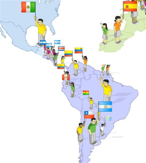 speaking countries map 127 best images about banderas y paises flags and