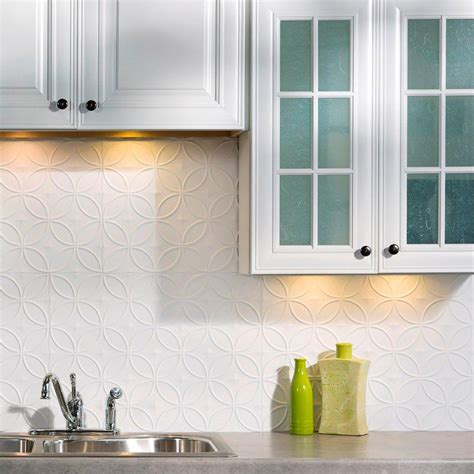 pvc backsplash panel 18 in x 24 in traditional 1 pvc decorative backsplash