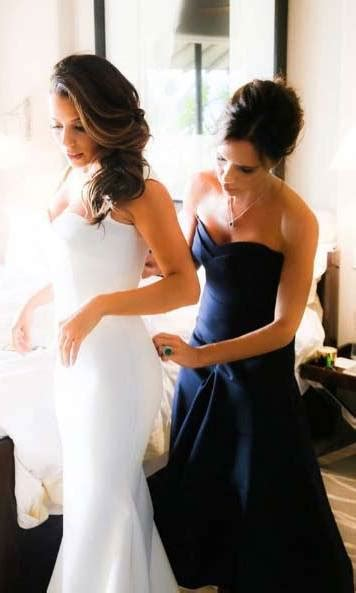 Longoria Gets Personal About Wedding by Instagram Photos Of Stunning Brides Hello Canada