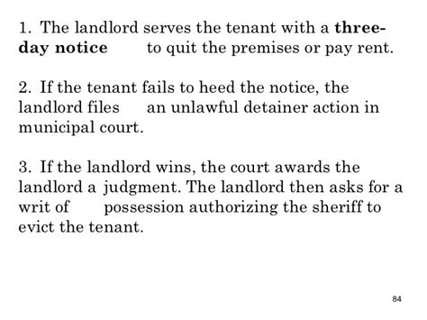 sle eviction notice for failure to pay rent chap15