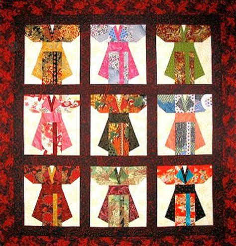 kimono pattern block 17 best images about asian quilt on pinterest japanese
