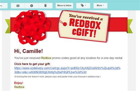 Are There Redbox Gift Cards - give a family movie night with red box gifts