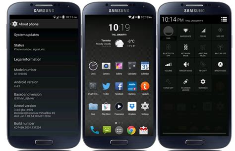 android 4 4 2 kitkat android 4 4 2 kot49h kitkat edition rom available for galaxy s4 lte i9505