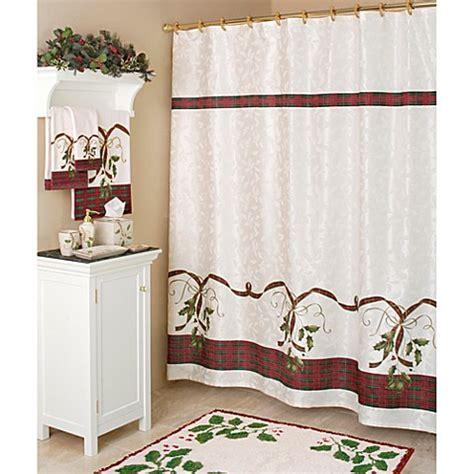 Lenox Shower Curtains Lenox 174 Nouveau Fabric Shower Curtain Bed Bath Beyond