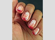 20 most exclusive French tip nail designs - Yve Style French Tip Nail Designs With Glitter