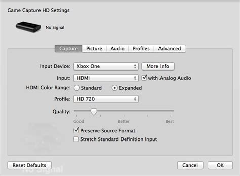 how to reset ps3 video input settings elgato systems capture settings and elgato game capture