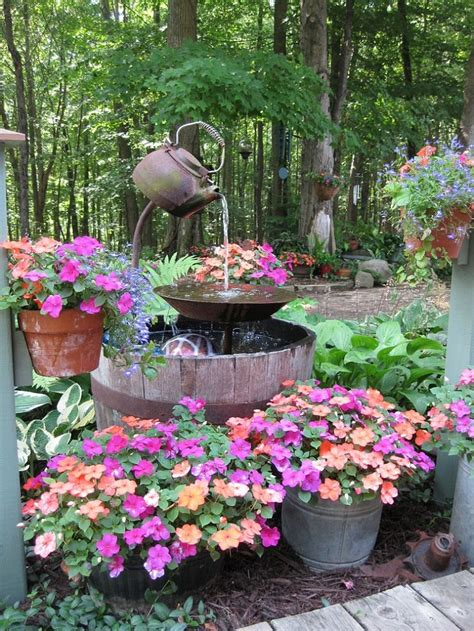 diy backyard fountain refresh the outdoor areas with smart diy projects on a budget