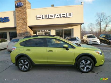 subaru crosstrek matte green 2014 subaru crosstrek photos and info news car and