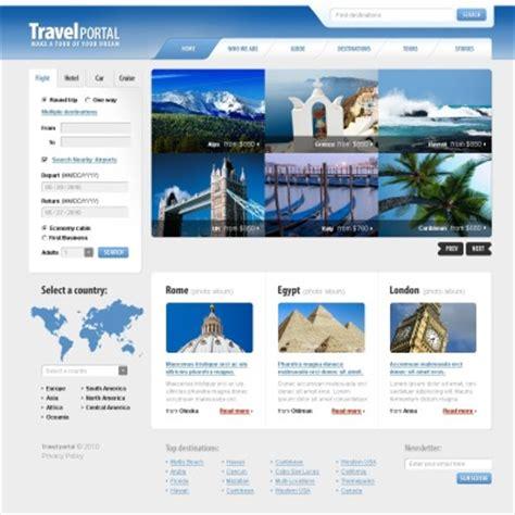 travel template psd psd templates psd photoshop web templates template