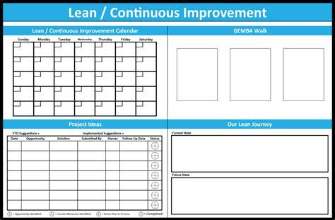 Continuous Improvement Board Idea Free Download Playapk Co Continuous Improvement Tracking Template
