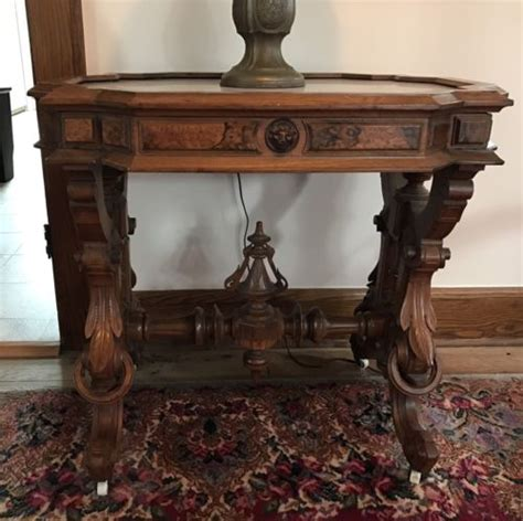 antique marble top tables prices antique marble top table antique price guide details page