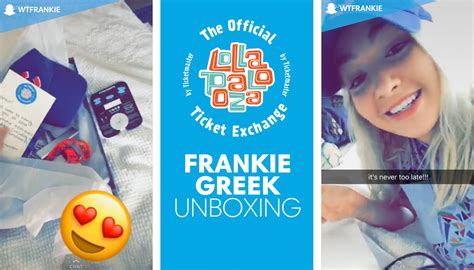 Lollapalooza Sweepstakes 2017 - frankie s wristband unboxing official lollapalooza ticket exchange
