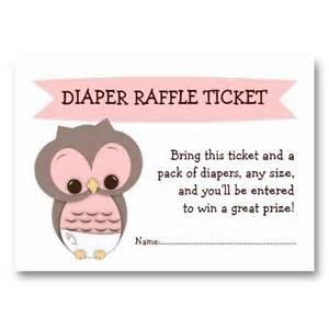 cake raffle ticket template pink owl baby shower raffle ticket insert
