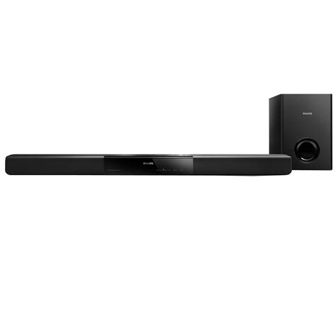 philips refurbished philips 1 2 in 2 1 channel soundbar