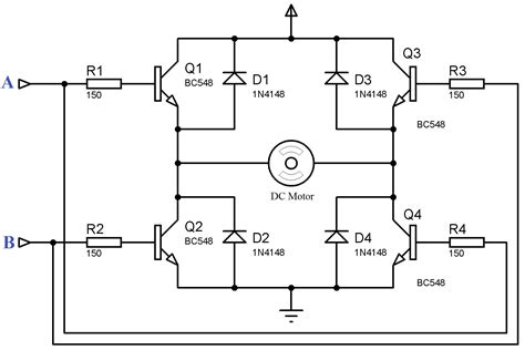 h bridge diode protection driving a dc motor without diodes electrical engineering stack exchange
