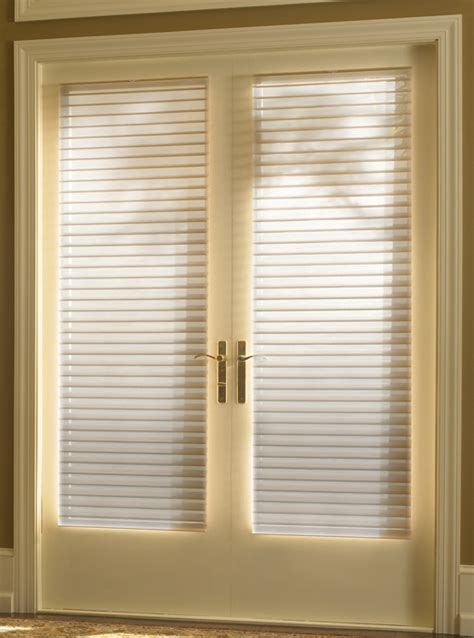 Door Shades For Doors With Windows by Window Treatments For Doors