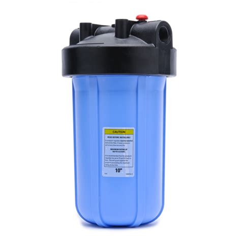 inline whole house water filter pentek hfpp 34 pr 10 big blue whole house 10 inch filter housing