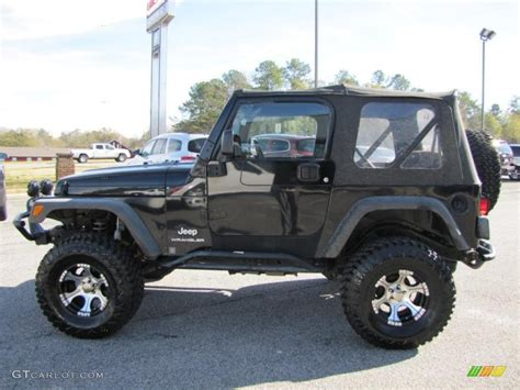 2004 jeep wrangler se 4x4 custom wheels photo 41342485